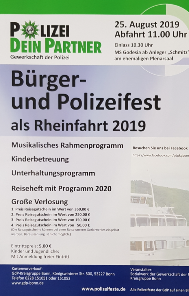 Bürger/Polizeifest 2019