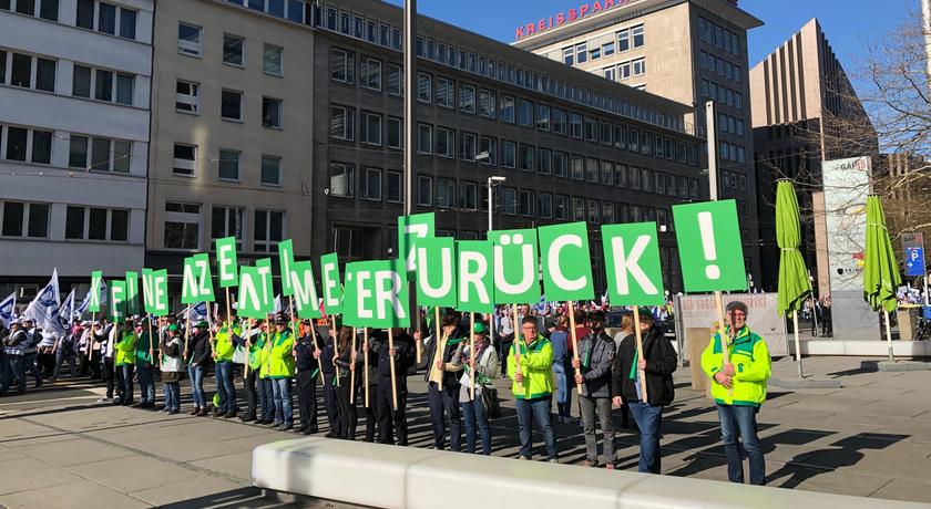 Demo Düsseldorf Bild 1