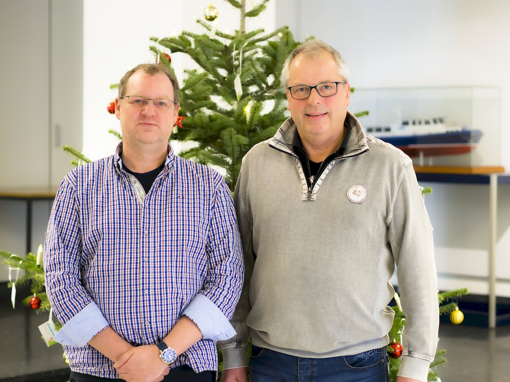 Frank Jackes und Harald Jurkovic