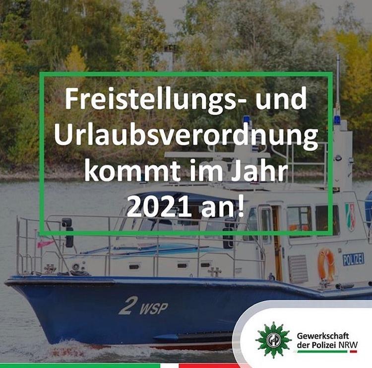 Freistellungs- und Urlaubsverordnung kommt im Jahre 2021 an