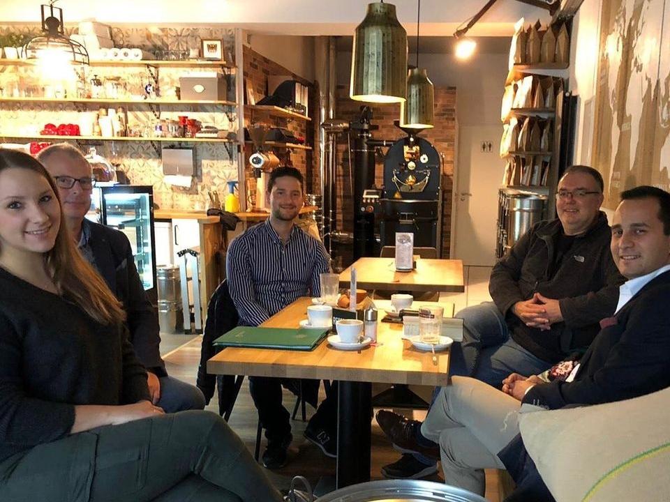 Treffen Özdemir Cafe RöstCult