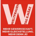 Slogan Weltfrauentag 2021