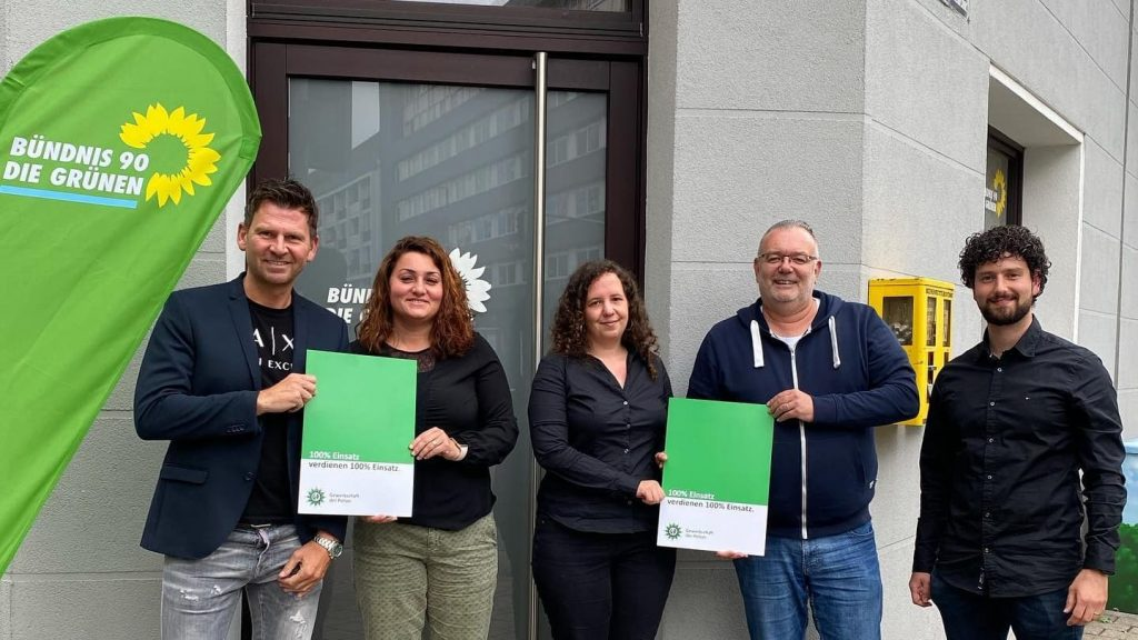 GdP Duisburg zu Gast bei Bündnis 90/Die Grünen