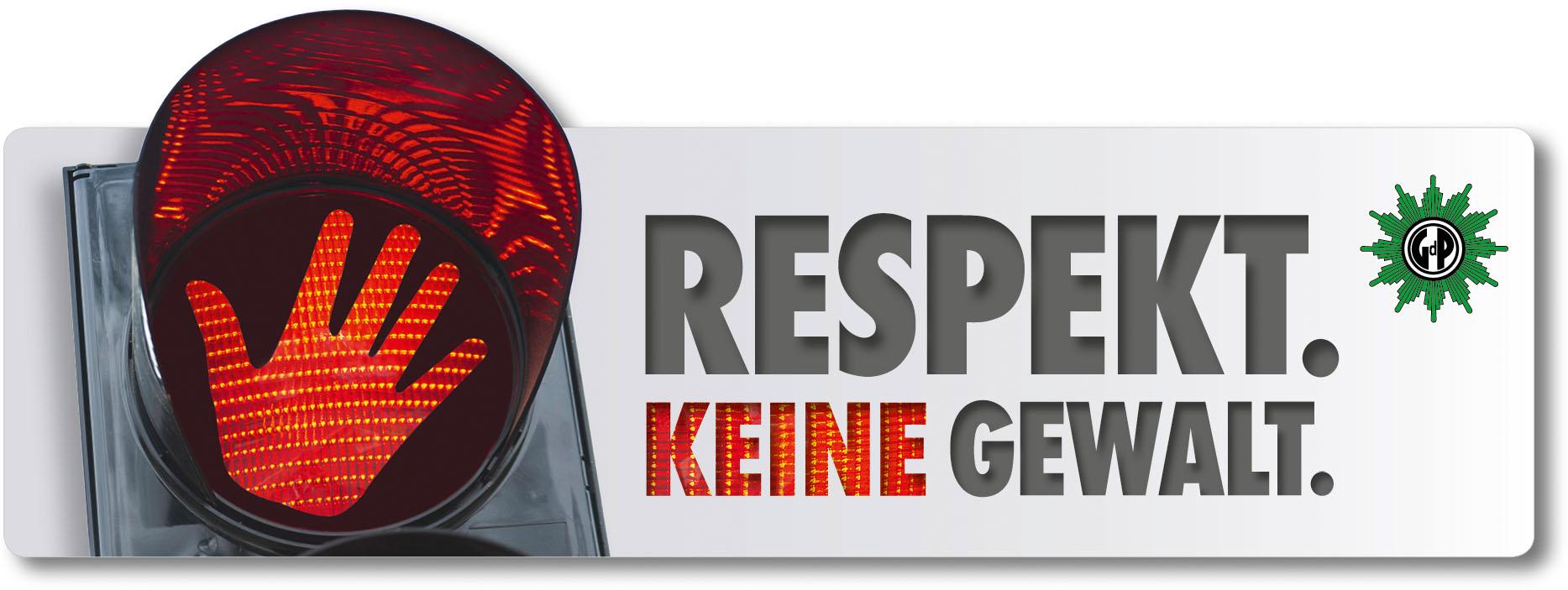 Respekt. Keine Gewalt.