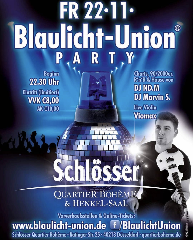Blaulichtparty Düsseldorf